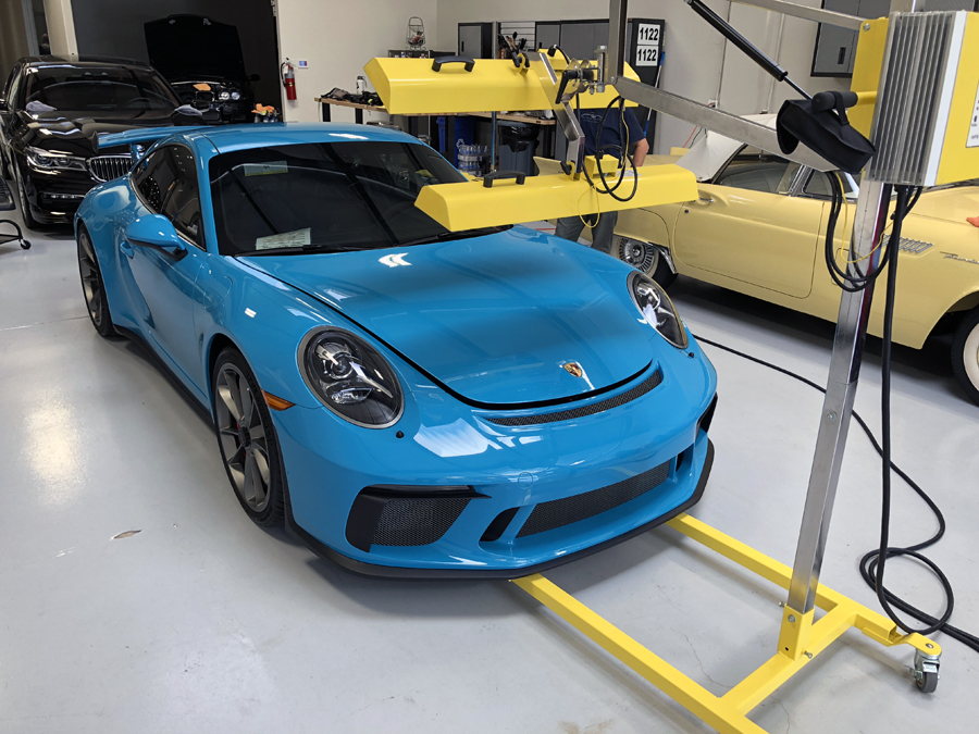 Ruf Rs S 991 2 Miami Blu Gt3 Paint Correction Clear Bra